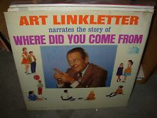 ART LINKLETTER where did you come from ( children ) - SEALED -
