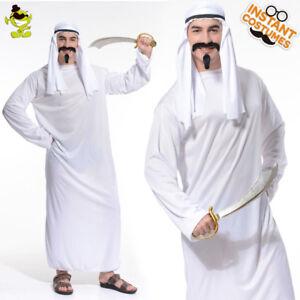 Image is loading Arabian-King-Costume-Halloween-Arab-Party-Costumes-For-  sc 1 st  eBay & Arabian King Costume Halloween Arab Party Costumes For Men Party ...