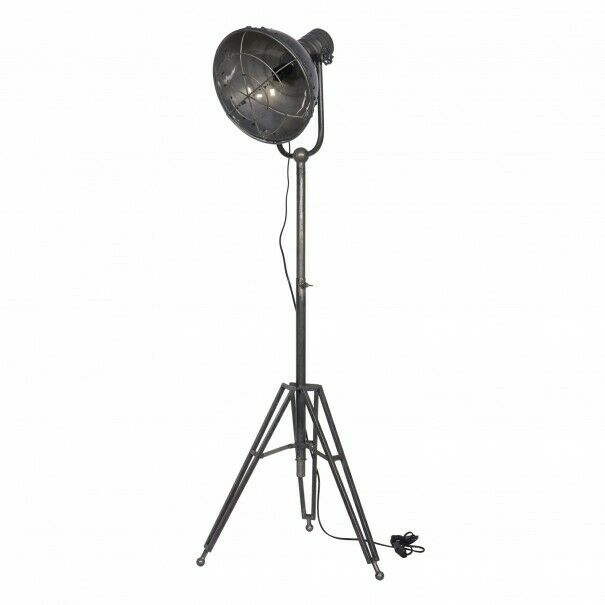 BePure Stehleuchte Spotlight - Stehlampe im Retro Vintage Industrial Stil
