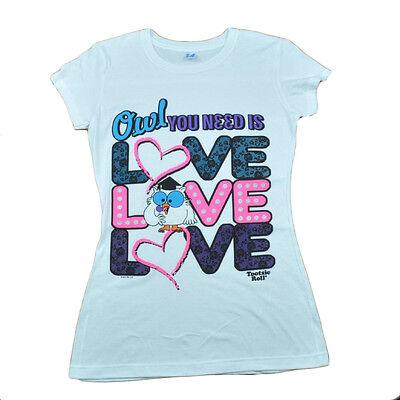 Baseball & Softball Weitere Ballsportarten UnermüDlich Tootsie Rolle Pop Candy Owl You Need Is Love Damen T-shirt Weiß L