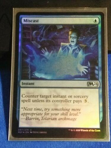 Miscast Foil MTG Core 21