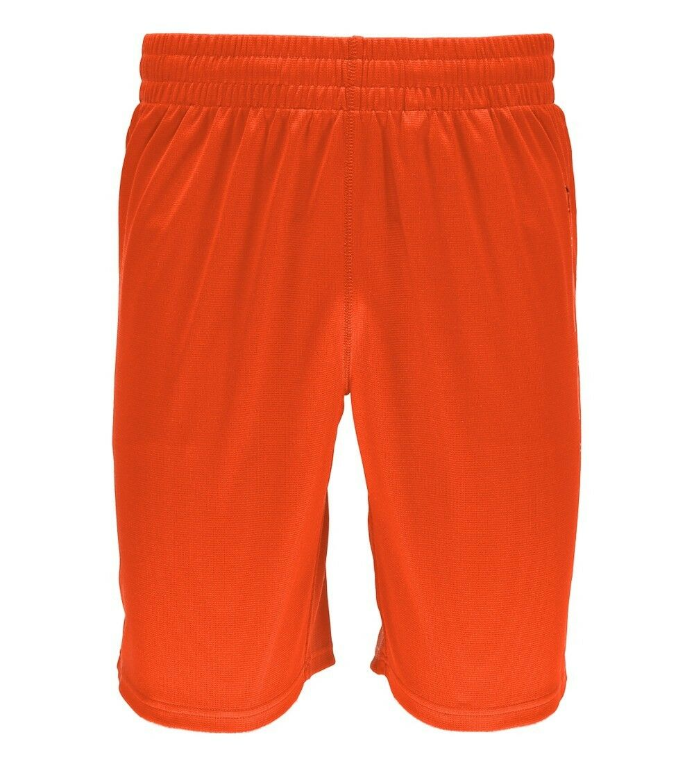 Spyder Men's Sports Fitness Long short Zeno Bryte orange
