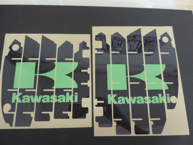 2012 2013 2014 2015 KAWASAKI KXF 450 RADIATOR SHROUD LOUVER DECAL SET