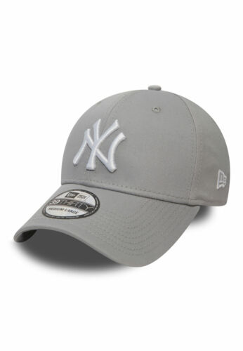NY YANKEES Grey-White New Era 39Thirty League Cap