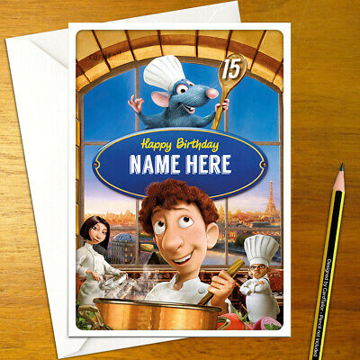 Personalised Birthday Anniversary Card Disney Pixar Up Adventure