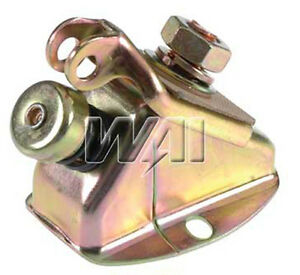 New 6 Volt Foot Operated Solenoid With Hardware For Early Delco Starters