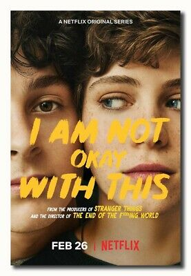 I Am Not Okay with This TV Movie Poster 24x36 32x48 Silk Art K428