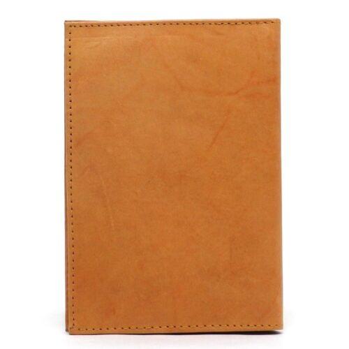 Leather Mens Business Credit Card Pocket Organizer Plastic Insert Bifold Wallet