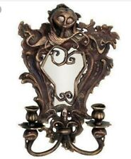 Disney Nightmare Before Christmas Cast Iron Sally Wall Mirror Candle Holder Tim
