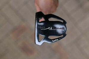 Used-Ping-Scottsdale-TR-Senita-Putter-35-034-Right-Handed-Golf-Clubs-Black-Dot