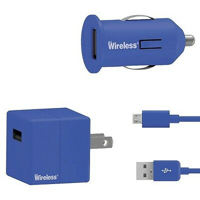 Just Wireless Mobile Phone Battery Charger Pack - Blue