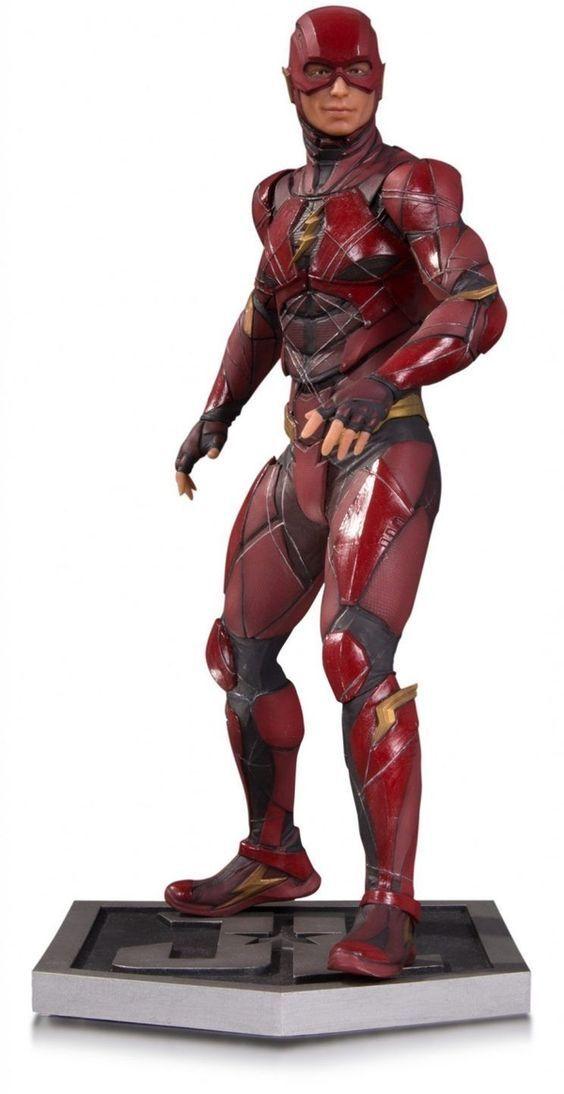 La Liga de la justicia Movie The Flash  Dc collectibles comics Justice league