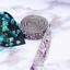 Crushed Stone Shell Rhinestone Beaded Iron On Applique Trim Bridal Embellishment
