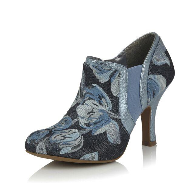 Ruby Shoo Belle Divino Ltd Edition Anna Lace Bar Shoe Red UK2-9 EU35-42