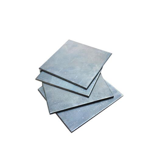 Pure Zinc Zn Sheet Foil Plate 0.08 0.1-3mm 100*100 120*100 150*100 500*500mm