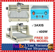 3 Axis 3040 Cnc Router Engraver Wood Drilling Milling Engraving Machine 400w