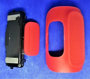 JBL-Charge-3-RED-base-USB-cover-battery-cover-and-AUX-cover-OEM
