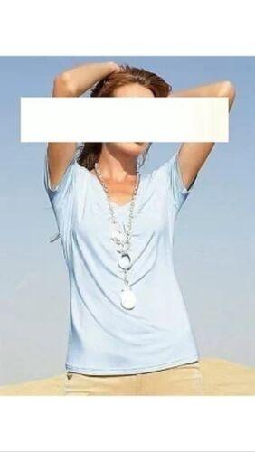 APART Jersey Shirt Top NEU bleu