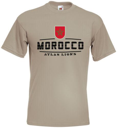 Marokko  Fanshirt Trikot WM2018 S M L XL XXL