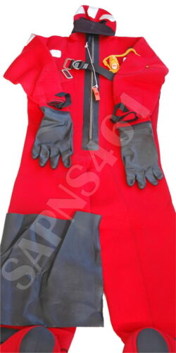CREWSAVER SOLAS MED Approved Neoprene Immersion Suit *L-SIZE* Excellent Condt.