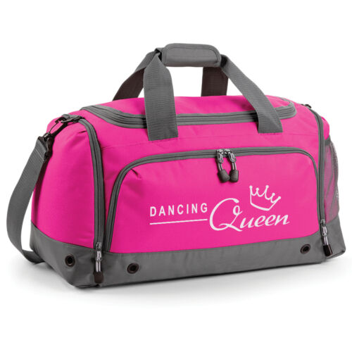 Dancing Queen Girls Dance Holdall Kit Bag Gym School Club ballet tap modern