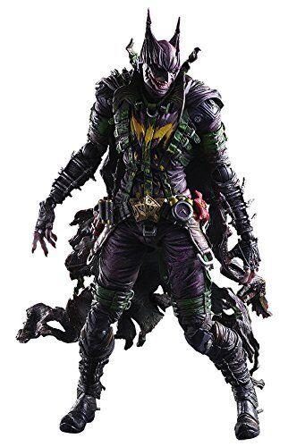 Flawed Box Batman's Rogues Gallery Joker Variant Play Arts Kai Action Figure