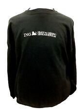 Reebok ING Bay to Breakers 12K Jog Sweater Black Sweat Shirt Workout Gear M C102