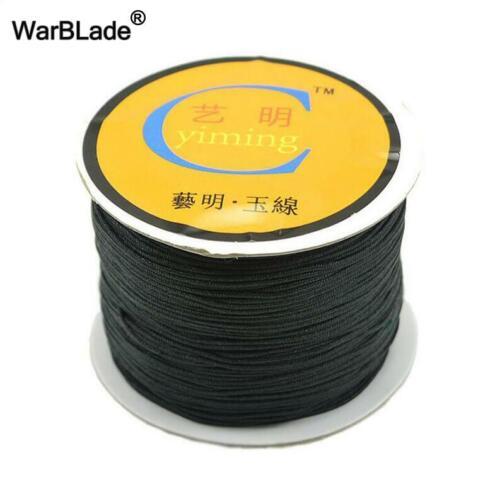 High Quality 100M//Spool 0.8mm 1mm 1.5mm 2mm Cotton Cord Nylon Cord Thread