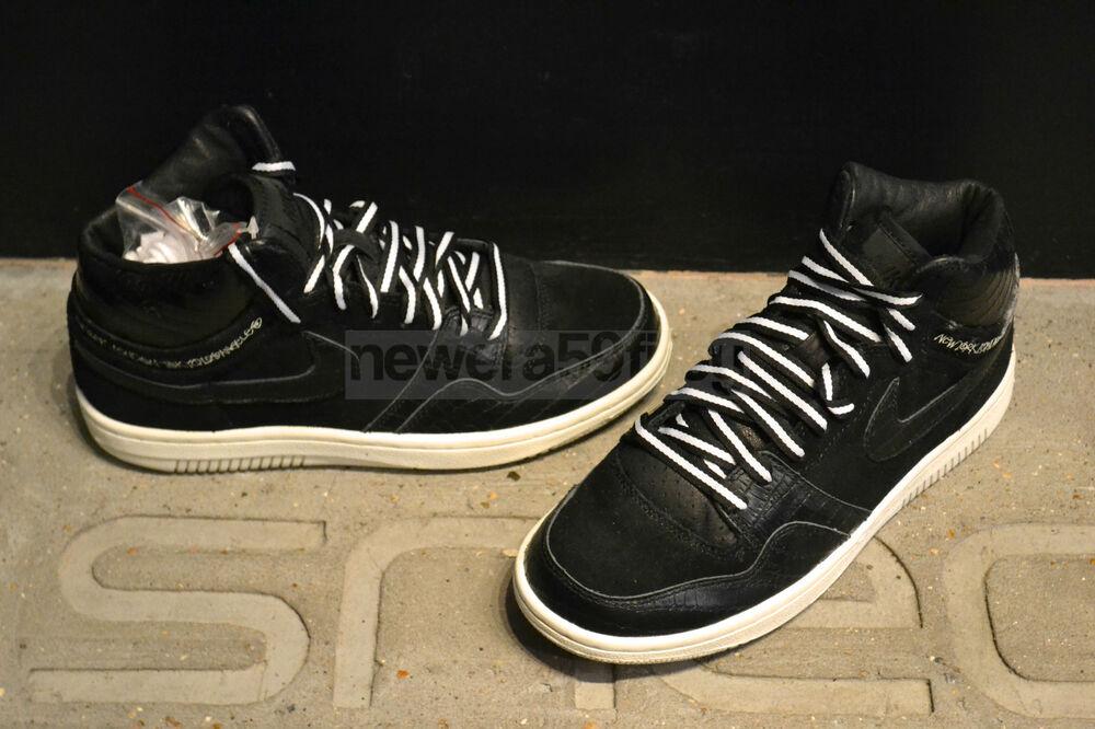 Nike Court Obliger Hi-noir/noir-Sail (Stussy)-il (Stussy)
