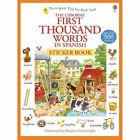 First Thousand Words in Spanish Sticker Book by Heather Amery (Paperback, 2014)