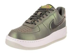 Details about Nike Air Force 1 Upstep Premium LX Dark StuccoWhite (AA3964 001)