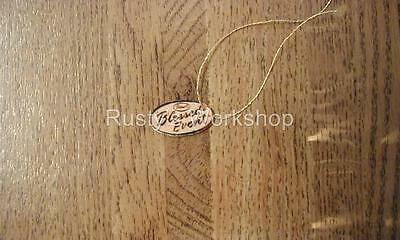 Reproduction 1950/'s Ideal POSIE doll Wrist hang TAG