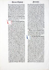 9-DEUTSCHE-BIBEL-BIBLIA-GERMANICA-INKUNABEL-PROPHETEN-WEISSAGUNG-KOBERGER-1483