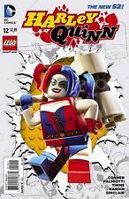 HARLEY QUINN #12 1ST PRINT LEGO VARIANT DC NEW 52 AMANDA CONNER JIMMY PALMIOTTI
