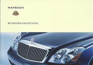 MAYBACH-57-57S-62-Betriebsanleitung-2005-Bedienungsanleitung-Handbuch-240-BA