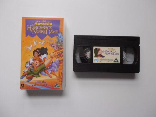 Walt Disney Classics VHS Video - The Hunchback of Notre Dame