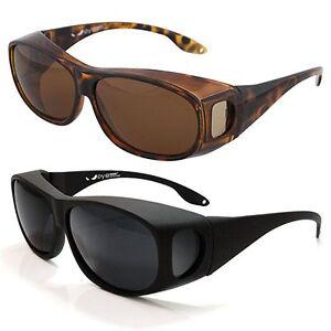 134e0c4bd5f7 Image is loading Fitover-Sunglasses-Polarized-Lens-Cover-For-Eyeglasses- Reduce-