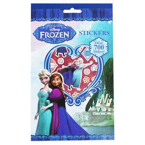 Disney-Frozen-700-Pack-De-Pegatinas-Elsa-Anna-Olaf-Divertido-Infantil-Papeleria