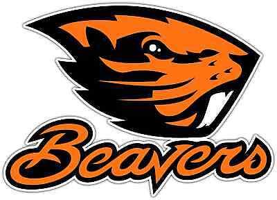 "Oregon State Beavers NCAA New Vinyl Car Bumper Window Sticker Decal 5""X4"""