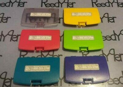 Bater/ía puerta trasera carcasa para Gameboy Color GBC Game Boy Color Replaceme Teal