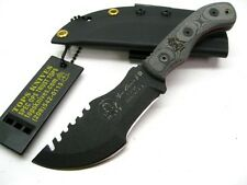 TPTBT040 TOPS Mini Tom Brown Tracker Survival Knife 1095 Carbon Blade Made USA