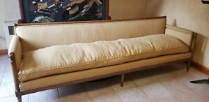 Details About Vintage Mid Century Modern Hollywood Regency Sofa Couch Dunbar Or Baker Style