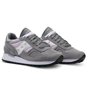 SAUCONY-SHADOW-grigio-viola-chiaro-Scarpa-da-ginnastica-sneaker-1008-705-grey