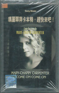 CASSETTE TAPE MARY CHAPIN CARPENTER Come on (Sony 92 CHINA) unique cv SEALED!