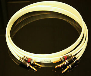 QED XT Silver Anniversary Bi-Wire Cable 1x 2 m 2-4 Metal Airloc ...