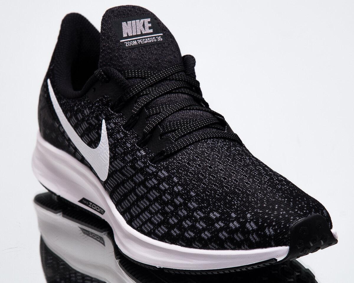 Nike Air Zoom Pegasus 35 Men New Black White Gunsmoke Running Shoes 942851-001