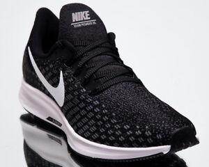 10ace5bf28f6 Nike Air Zoom Pegasus 35 Men New Black White Gunsmoke Running Shoes ...