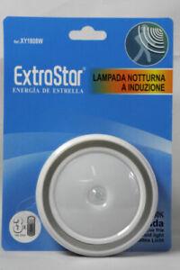 lampada notturna a induzione sensore di movimento luce fredda 1,5V