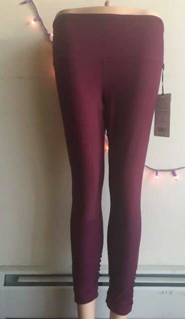 23e5e01f5682 90 Degree by Reflex Leggings Style CW63950 New SizeS Cherry Jubilee High  Waisted