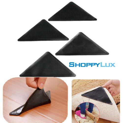 4pcs Washable Slip Silicone Gripers Rug Carpet Anti Skid Set Ruggies Gug Grips
